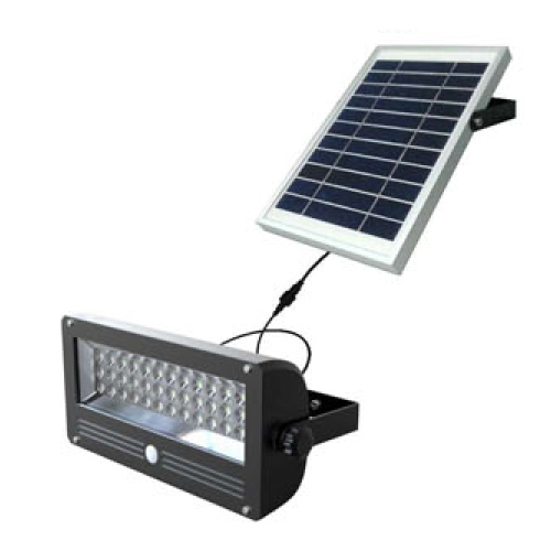 Solar Security Light With Pir Motion Sensor And Separate