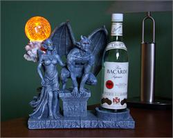 Gargoyle and Girlgoyle Bottle Holder