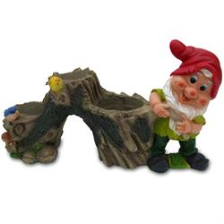 Large Gnome - Tree Flower Pot