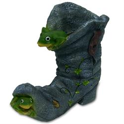 Frog Boot Flower Pot