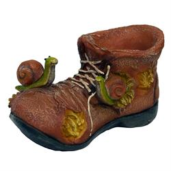 Snail Shoe Flower Pot