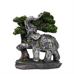 Elephant In Trees
